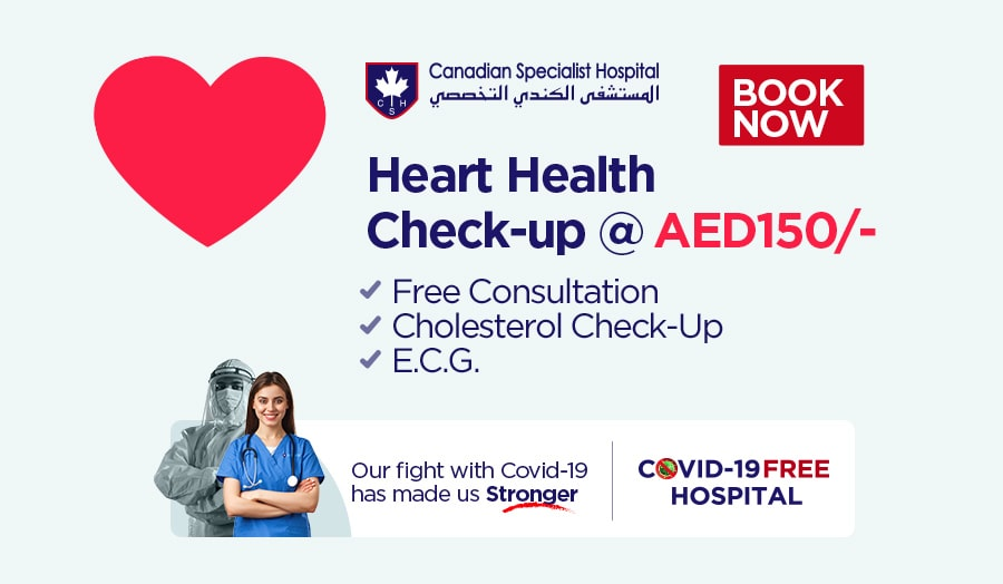 Heart Health Check-up at 150AED